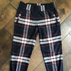LOFT Plaid Pants - Size XXS